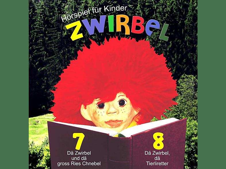 Zwirbel - Folge 7 Und 8 - Zwirbel- 07: Dä Zwirbel und dä gross Ries Chnebel und 08: Dä Zwirbel dä Tierliretter - (CD)