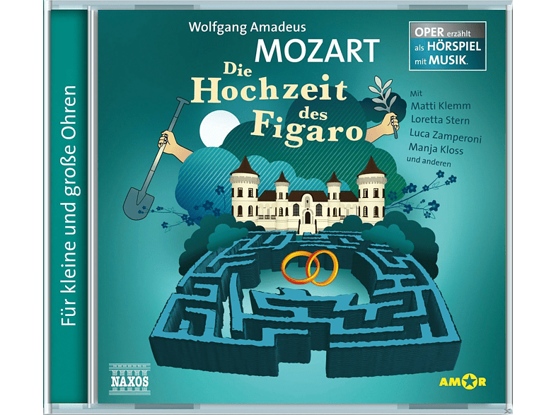 Zamperoni/Klemm/Stern/+ - Die Hochzeit des Figaro - (CD)