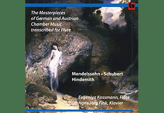 Hans Jörg Fink, Evgeniya Kossmann - The Masterpieces Of German And Austrian Chamber Music Transcribed For Flute  - (CD)