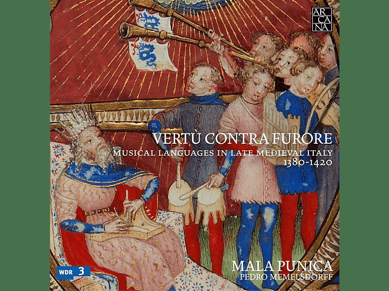 Pedro Memelsdorff, Ensemble Mala Punica - Vertu Contra Furore [CD]