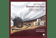 Rombach/Ensemble Officium - Miserere Mei Deus-Musik Zur Passion Um 1500 [CD]