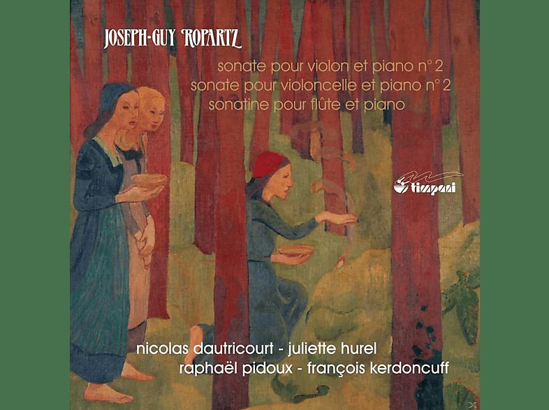 Juliette Hurel, Raphael Pidoux, Francois Kerdoncuff - Die Sonaten Vol.1 [CD]