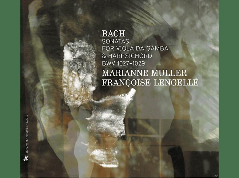 Marianne Muller, Francoise Lengelle - Gambensonaten BWV 1027-1029 [CD]