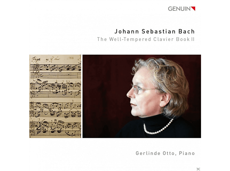 Gerlinde Otto - Bach: The Well-Tempered Clavier Book II [CD]