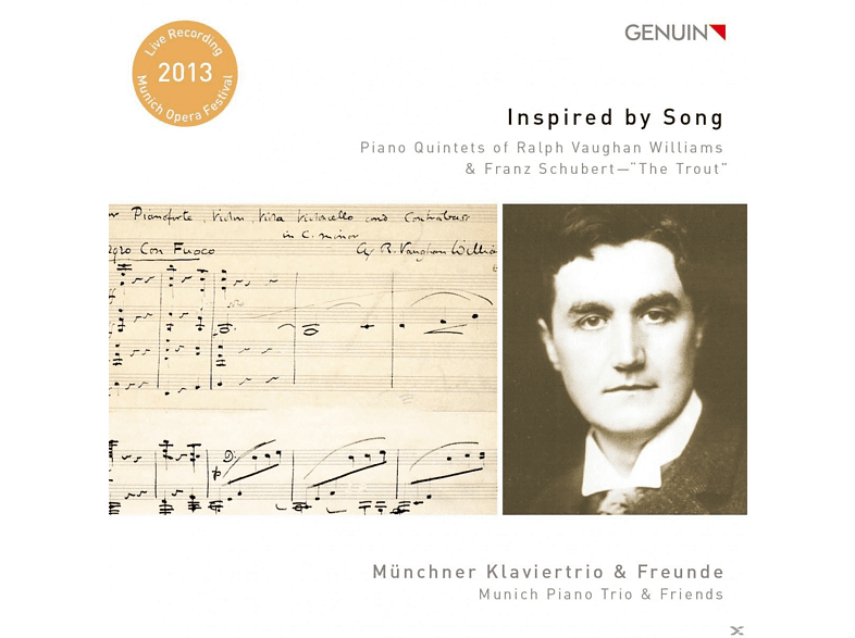 Tilo Widenmayer, Alexander Rilling, Münchner Klaviertrio - Inspired by Song-Piano Quintette [CD]