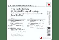 Lutz Kirchhof - Johann Sebastian Bach: Complete Works For Lute [CD]