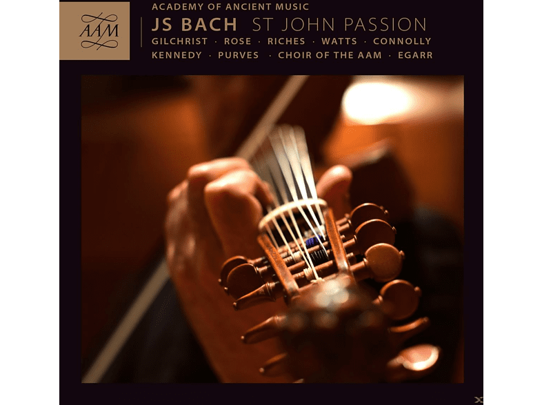 James Gilchrist, Ashley Riches, Elizabeth Watts, Sarah Connolly, Andrew Kennedy, Christopher Purves, Academy Of Ancient Music, Choir Of The Aam, Matthew Rose - St. John Passion [CD]
