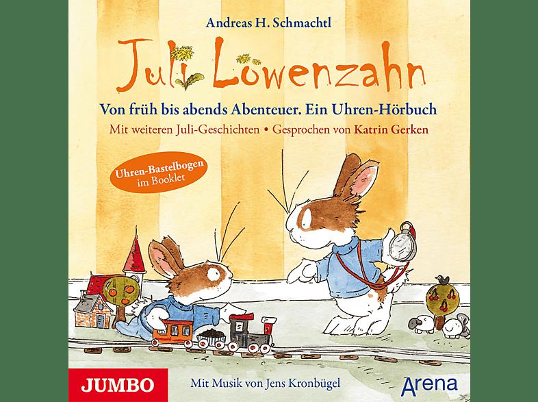 Juli Löwenzahn - Von früh bis abends Abenteuer - (CD)