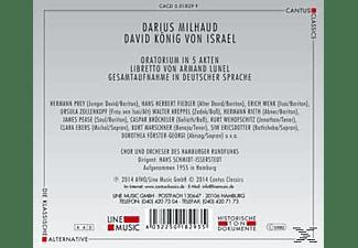 Chor Und Orchester Des Hamburger Rundfunks - David König Von Israel  - (CD)