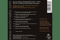 Rienth/Rienth/La Tempesta Basel - Tenor Cantatas & Recorder Sonatas [CD]