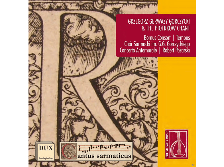 Bornus Consort, The Gorczycki Sarmatian Choir, Concerto Antemurale, Vocal Quartet Tempus - Sarmatische Gesänge [CD]