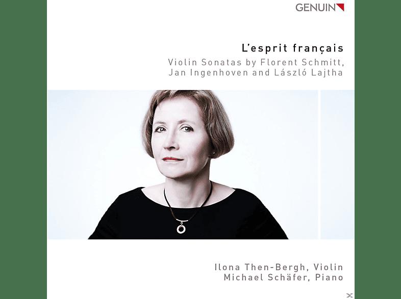 Ilona Then-bergh, Michael Schäfer - L'esprit Francais-Violinsonaten [CD]