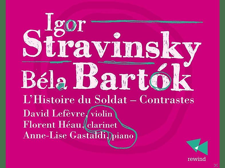 Florent Heau, David Lefevre, Anne-Lise Gastaldi - L'Histoire Du Soldat - Contrastes [CD]