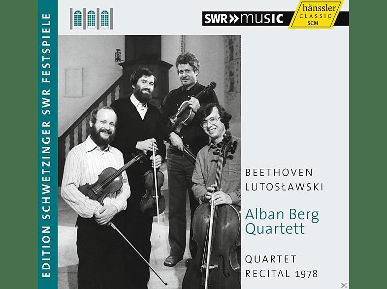 Alban Berg Quartet - Quartett Recital 1978 [CD]