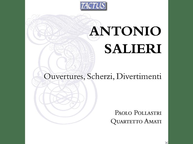 Paolo Pollastri, Quartetto Amati - Ouvertures, Scherzi, Divertimenti [CD]