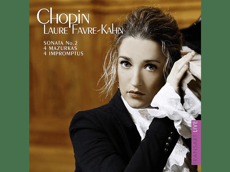 Laure Favre-kahn - Sonata No. 2 [CD]