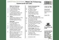 VARIOUS - Johannes Bammer-Blätter der Erinnerung [CD]