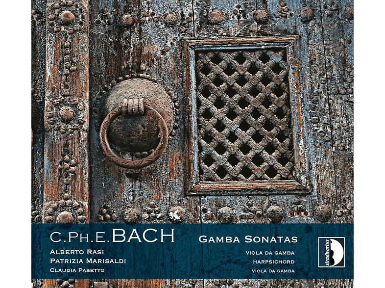 Alberto Rasi, Patrizia Marisaldi, Claudia Pasetto - Bach: Gamba Sonatas Wq 136 & 137/Trio Wq 88 [CD]