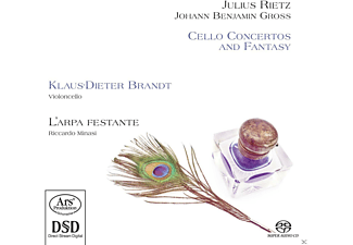Klaus-dieter Brandt, L Arpa Festante - Cello Concertos And Fantasy  - (SACD Hybrid)