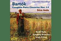 Géza Anda, Rundfunk-sinfonieorchester Berlin - Die Klavierkonzerte 1-3 [CD]