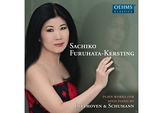 Sachiko Furuhata-kersting - Sachiko Furuhata-Kersting Plays Works For Solo Piano By Beethoven & Schumann  - (CD)