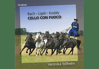 Veronika Wilhelm - Cello Con Fuoco  - (CD)