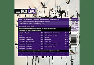 Genia  Kühmeier, Netherlands Radio Choir, Royal Concertgebouw Orchestra, Bernarda Fink, Mark Padmore, Gerald Finley - Mozart: Requiem  - (SACD)