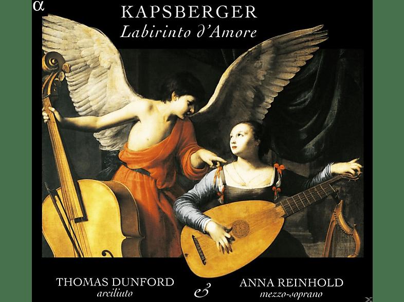 Anna Reinhold, Thomas Dunford - Labirinto d'Amore [CD]