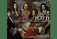 Luca Guglielmi, Paolo Grazzi, Concerto Madrigalesco - Platti: Concerti Per Il Cembalo Obligato [CD]