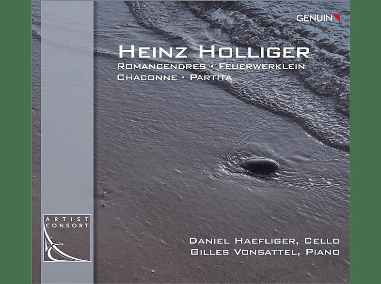 Daniel Haefliger, Gilles Vonsattel - Romancendres - Feuerwerklein - Chaconne - Partita [CD]
