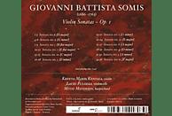 Kreeta-Maria  Kentala, Lauri  Pulakka, Meyerson Mitzi - Violinsonaten Op.1 Nr.1-12 [CD]