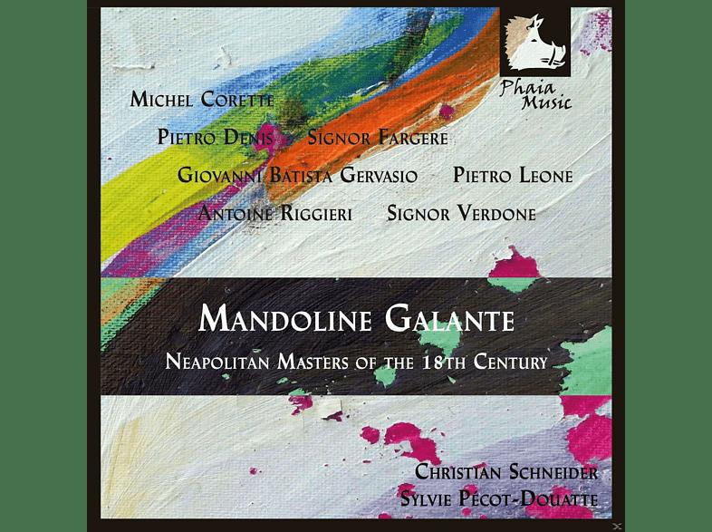 Christian Schneider, Sylvie Pécot-douatte - Mandoline Galante - Neapolitan Masters Of The 18th [CD]
