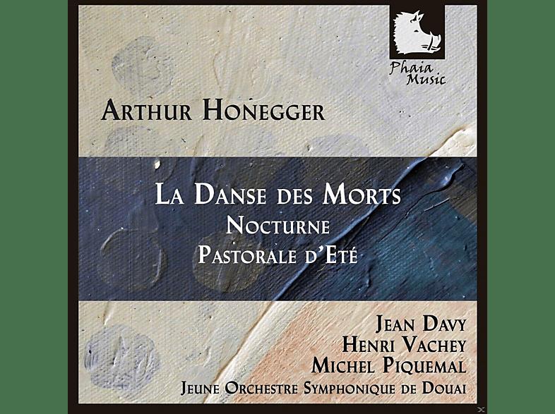 Jean Davy, Michel Piquemal, Ensemble Vocal Roland De Lassus, Jeune Orchestre Symphonique De Douai, Claudine Collart - La Danse Des Morts / Nocturne / Pastorale D'ete [CD]