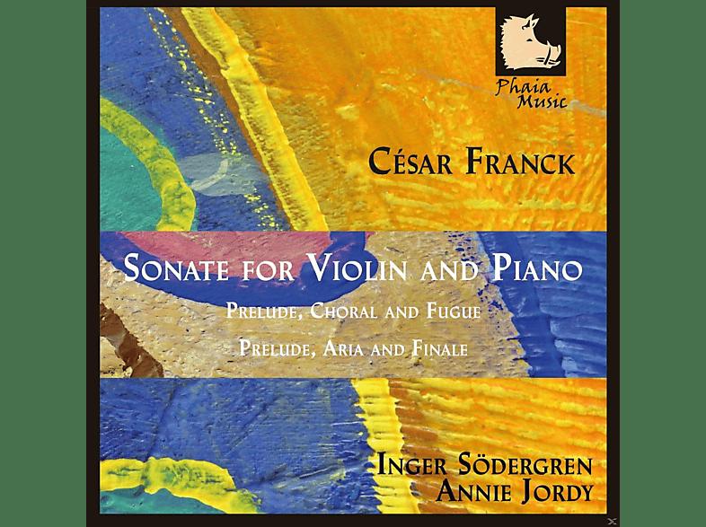 Inger Sodergren, Annie Jordy - Franck: Sonate For Violin And Piano [CD]