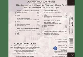 Concert Royal Köln - Kammermusik Für Bläser Und Orgel  - (SACD Hybrid)
