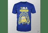 MINIONS - 1 IN A MINION (SHIRT M BLUE)