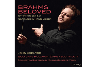 John Axelrod - Brahms Beloved II  - (CD)