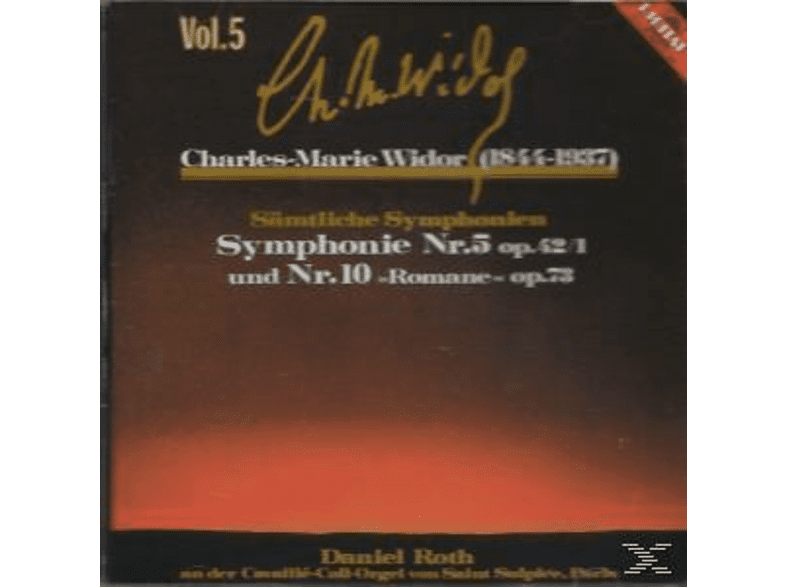 Roth Daniel - ORGELSINFONIE 5+10 V.5 [CD]