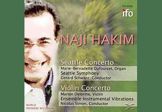 Marie Bernadette Dufourcet, VARIOUS - Seattle Concerto/+Violinkonzert  - (CD)