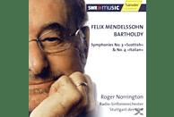 """Roger & Radio Sinfonieirchester Stuttgart Des Swr Norrington - Felix Mendelssohn Bartholdy: Symphonies No. 3 """"Scottish"""" & N [CD]"""