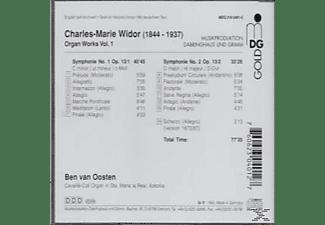 Ben Van Oosten - Widor: Das Orgelwerk Vol. 1  - (CD)