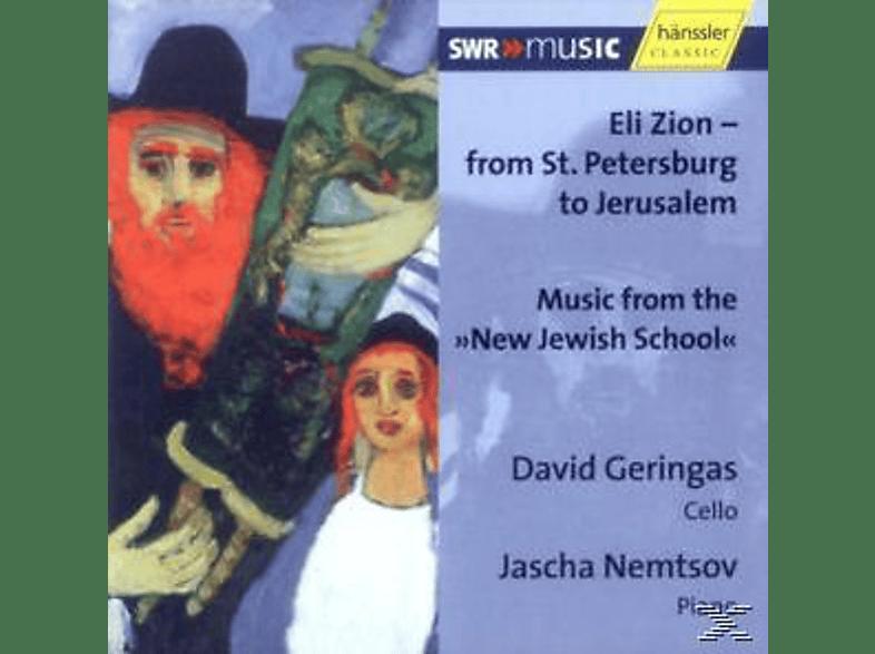 GERINGAS, DAVID / NEMTSOV, JASCHA - Von St.Petersburg Bis Jerusal [CD]