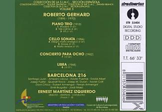 E.M. Izquierdo, Ens.Barcelona - Klaveirtrio/Cellosonate/Libra/  - (CD)