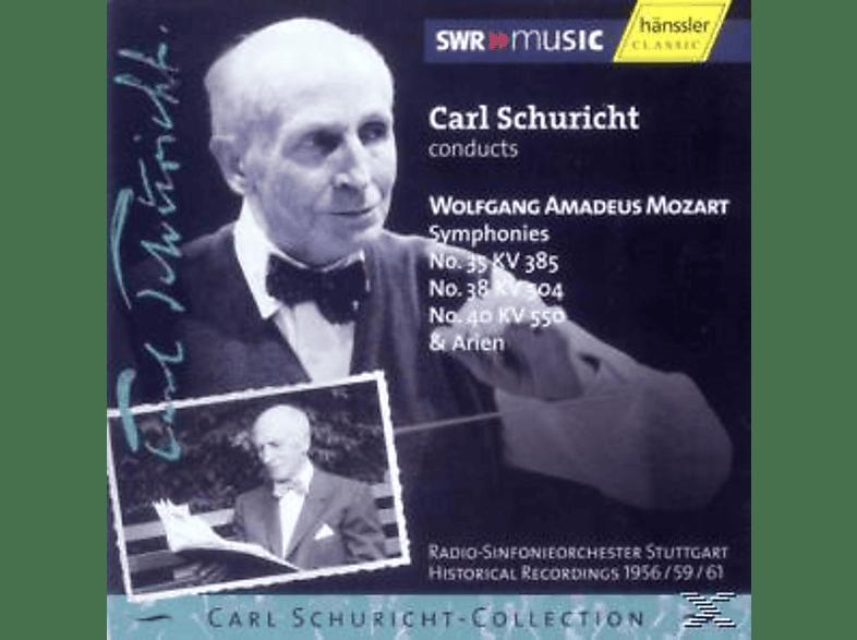 Radio-Sinfonieorchester Stuttgart, Carl Schuricht - Sinfonien 35,38+40 [CD]