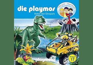 Die Playmos 17: Rettet den Dinopark  - (CD)