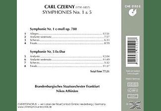 ATHINÄOS & BRANDENB.STAATSORCHESTER FRANK - Sinfonien Nr. 1 C - Moll & Nr. 5 Es - Dur  - (CD)