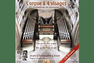 Jean-christophe Geiser - L'orgue à 4 visages [CD]