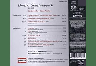 Busch, Babinsky/Busch - Klavierwerke  - (SACD)