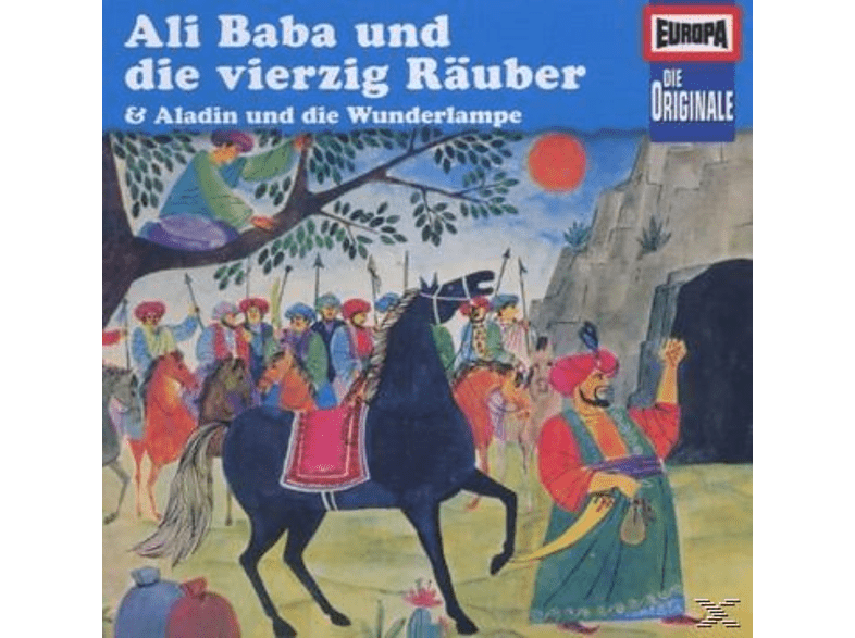 EUROPA - Die Originale 27: Ali Baba und die vierzig Räuber - (CD)