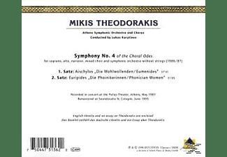 Karytinos, Athens Symphonic Orchestra & C - Sinfonie 4  - (CD)